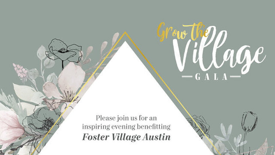 fostervillage gala invitation 2