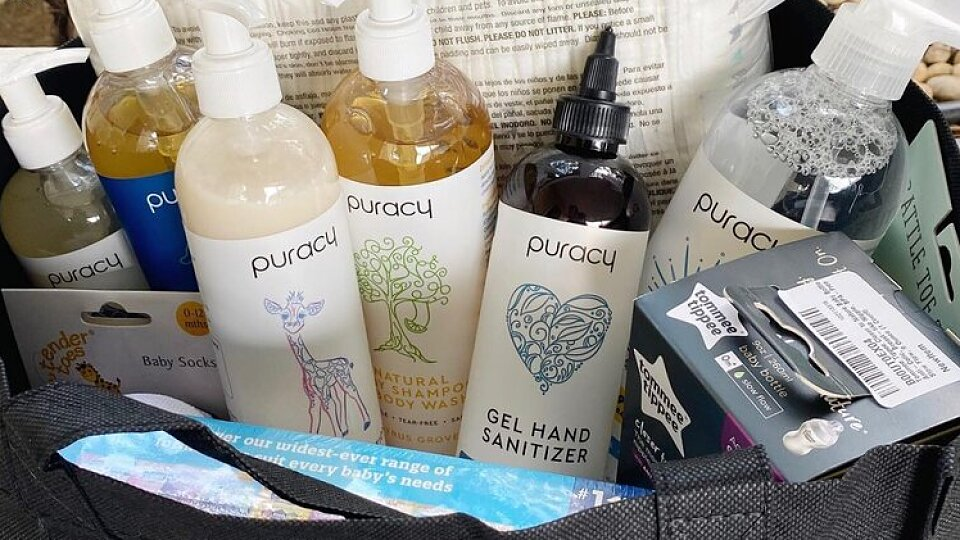 puracy gift bag